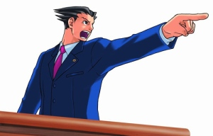 "Uh oh. The other side is wearing a suit and saying ""objection."" They must be for real."